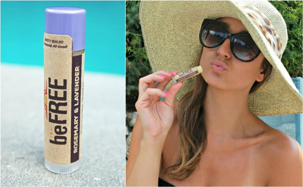 The lavender chapstick is a new favorite of mine!