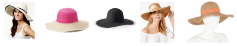 shop floppy hats