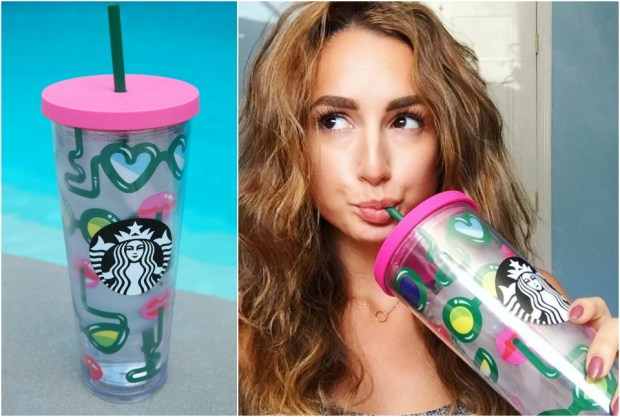 stay hydrated starbucks tumbler