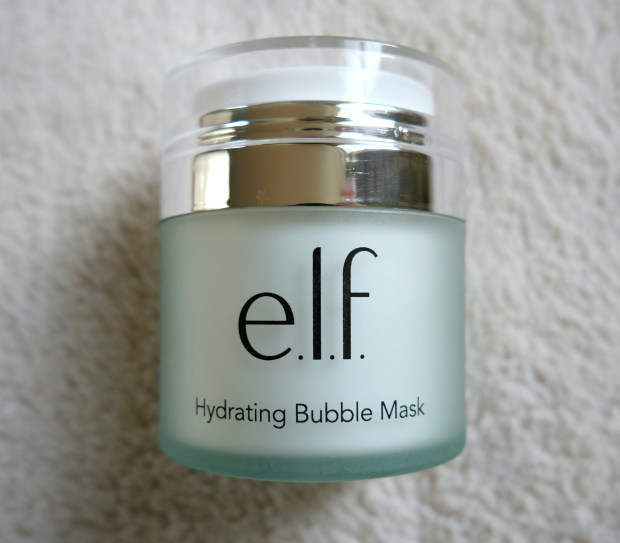 elf hydrating bubble mask