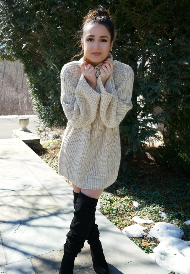shein-oversized-turtleneck-sweater-dress-4