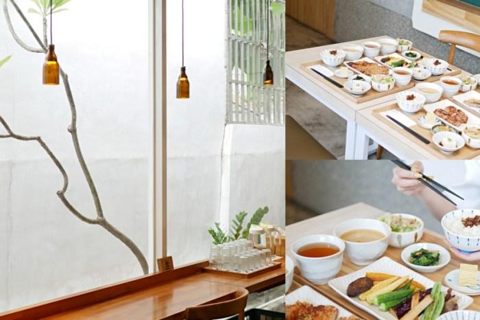 台南美食『小碗和食』隱身於巷弄裡的溫潤和風定食。台南東區|成大美食|大學路18巷