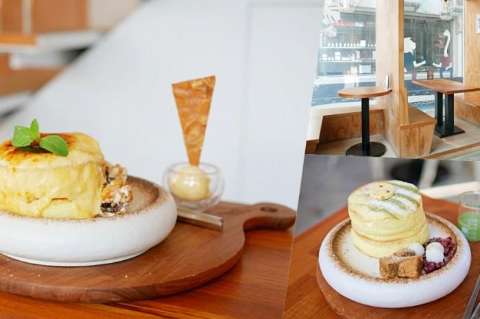 讓人一吃愛上的舒芙蕾厚鬆餅『成真咖啡』正興街有插座WiFi的冠軍咖啡廳!食尚玩家推薦|海安路美食