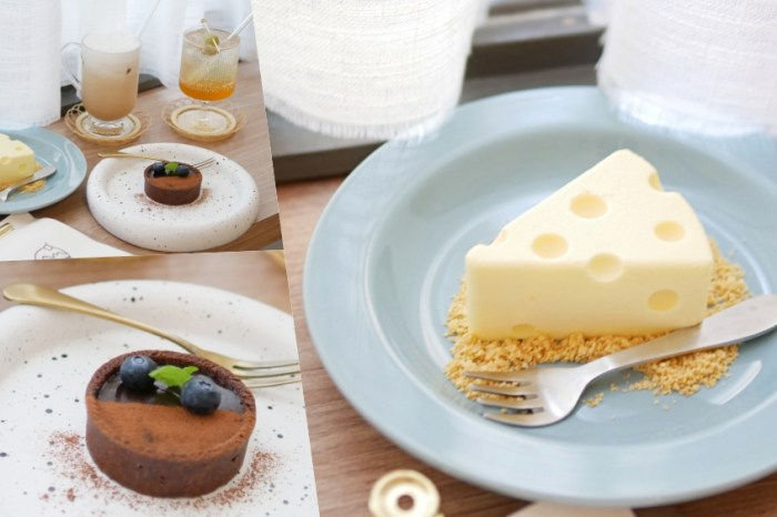 湯姆貓與傑利鼠愛的生乳酪『島內移民』讓人一眼愛上的隱藏版巷弄韓風咖啡廳!台南下午茶 成大美食