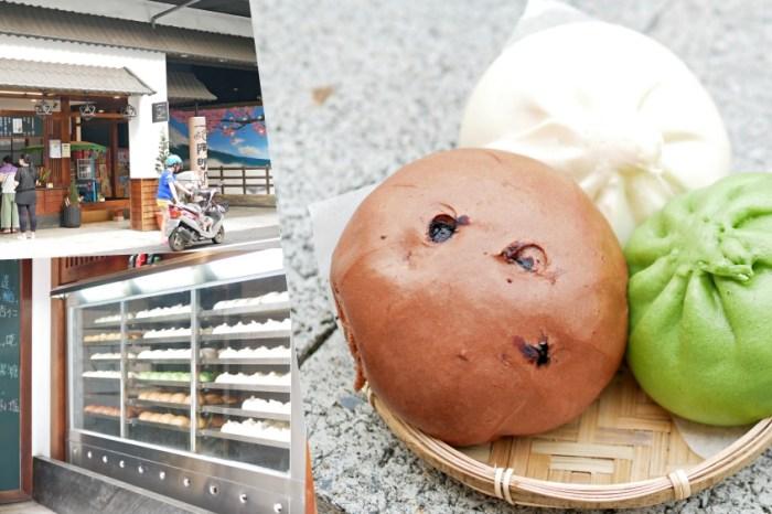 堅持40多年的傳統好味道『阿明肉包』口味多達11種的繽紛包子饅頭吃起來!屏東美食 潮州美食 食尚玩家推薦
