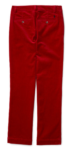 Ralph Lauren Red Corduroys