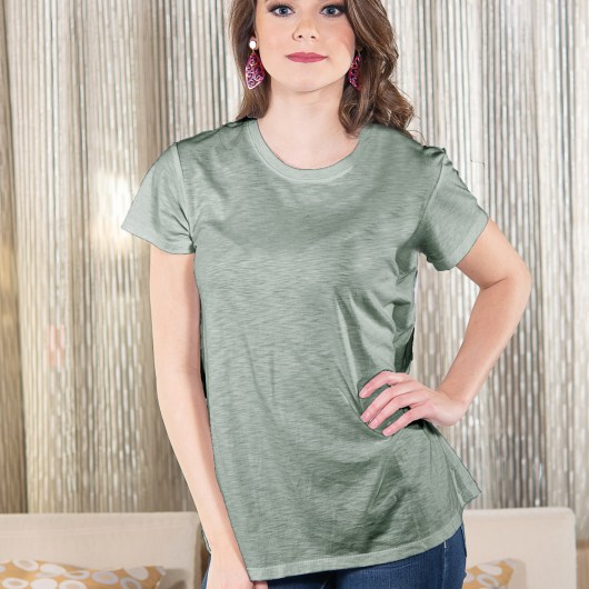Luxe T-Shirt - Sage