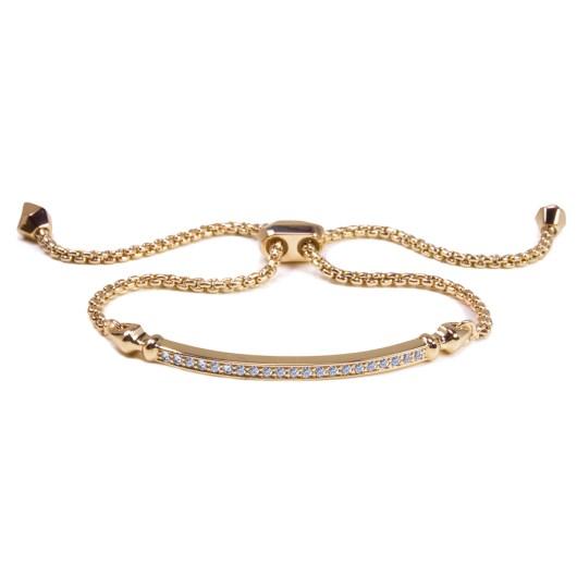 Bar Adjustable Bracelet - Rosegold