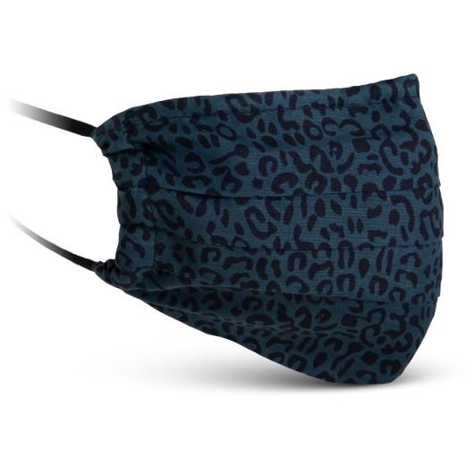 Fabric Mask - Green Leopard Print
