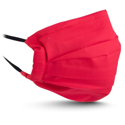 Fabric Mask - Solid Red