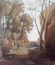 "Student Work: Copy of Corot's ""The Little Shepherd,"" 2000"