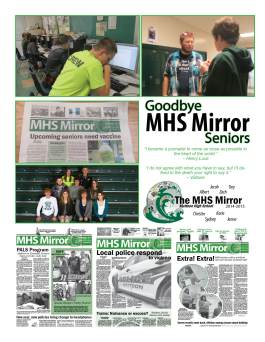 Merry Christmas MHS Mirror 2014