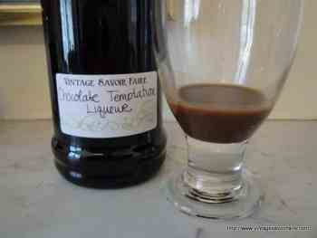 Chocolate Temptation Liqueur