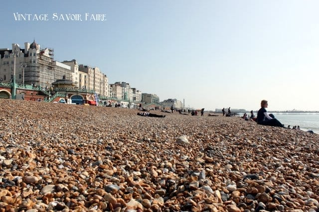 Rocks on Brighton Beach