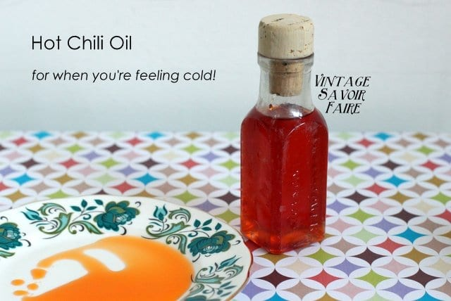 Hot Chili Oil Rub - for your skin!