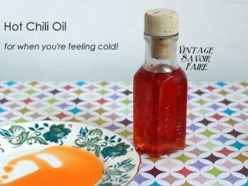 Hot Chili Oil Rub – for your skin!