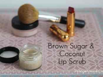 amandacook.me : Homemade Lip Scrub Recipe