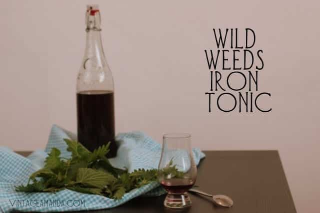 wild weeds iron tonic