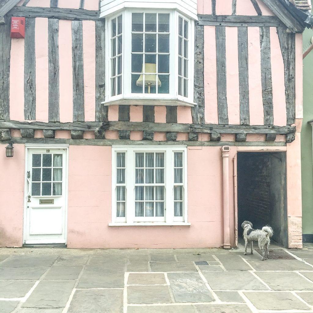 Tudor architecture in Horsham