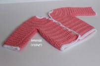 6-12 Month Rosebud Sweater 1