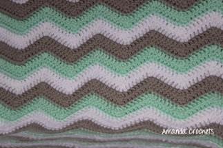 Chevron Baby Blanket 3 Color