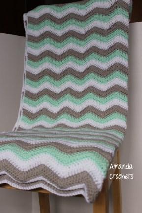 Chevron Blanket 3 Color
