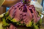 November 22, 2012. Purple kale!