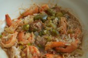 December 5, 2012. Shrimp and Sausage Gumbo.