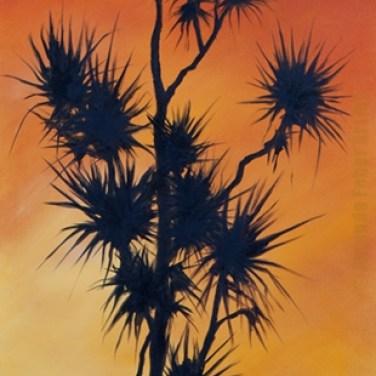 Colours of Dusk, Oils on Canvas, 1900 x 600mm 2014