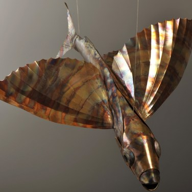 amanda_feher_sculpture_public_art_copper_and_stainless_steel_Flight_School_Flying_Fish_Strand Ephemera_Fish3