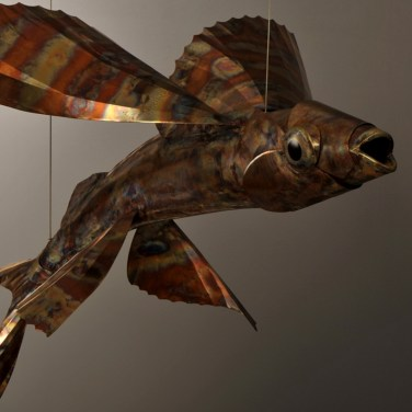 amanda_feher_sculpture_public_art_copper_and_stainless_steel_Flight_School_Flying_Fish_Strand Ephemera_Fish7