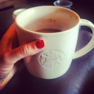 4. Soy Salted Caramel Latte