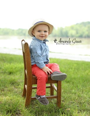 Ripley WV Photography Studio Ravenswood Riverfront First Birthday Session