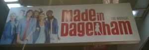 Made in Dagenham signboard