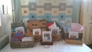 Craft stand at Bishop Auckland