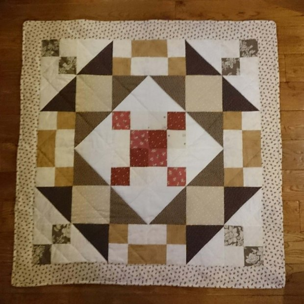 One hundred quilt, by Amanda Jane Textiles