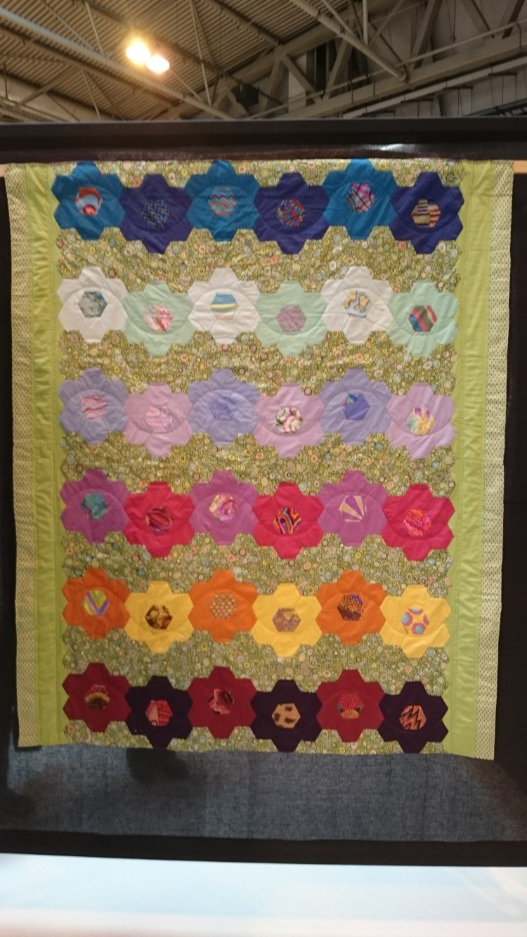 'The Missed Exhibition' Festival of Quilts 2016