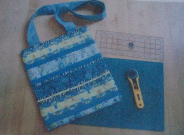 'Quilter's Bag' pattern by Amanda Jane Textiles