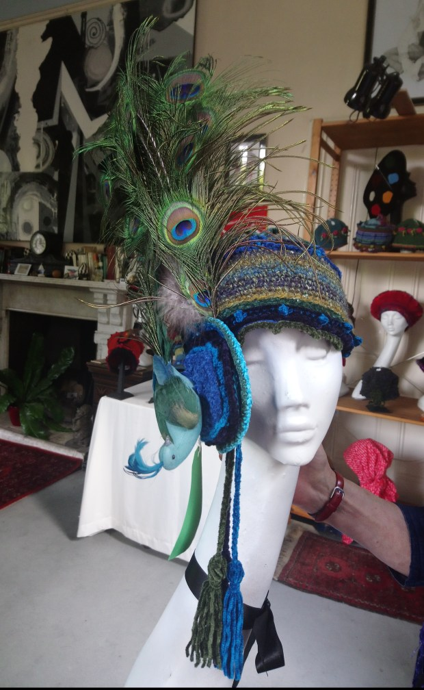 Hat by Kay Ribbens