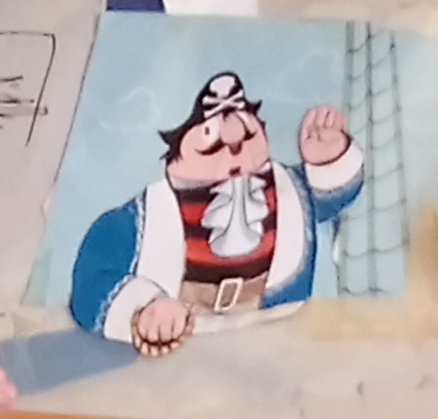 Captain Pugwash, artwork copright the Estate of John Ryan, photo used by kind permission of Isabel Ryan