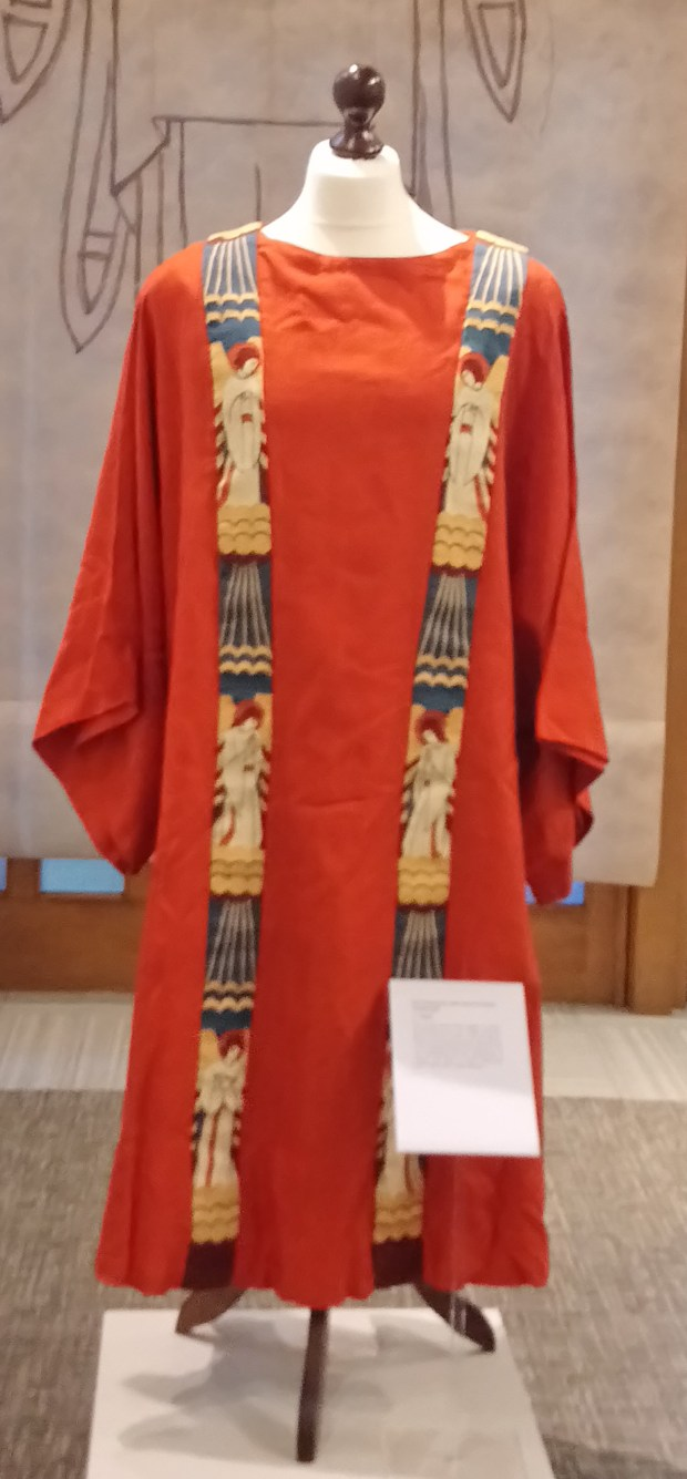 Weaving by Sister Werburg,'Hand in Hand' exhibition at Ushaw