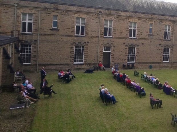 Courtyard at Ushaw