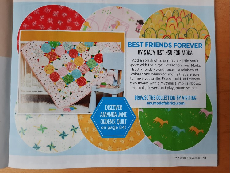 'Best Friends Forever' collection by Stacy Iest Hsu for Moda