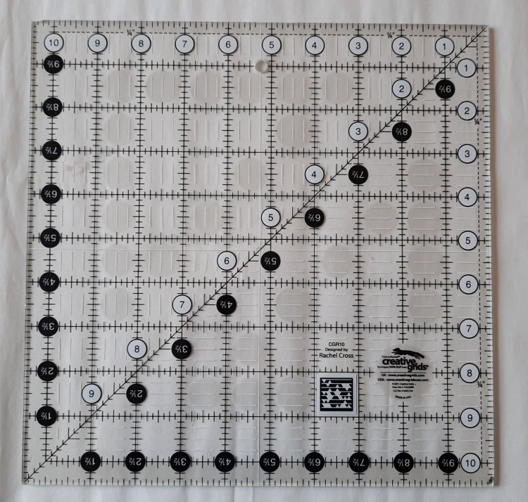 Quilters' ruler by Creative Grids