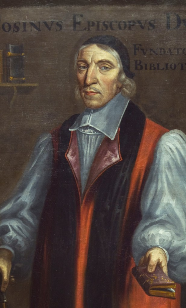A portrait of Bishop Cosin, founder of Cosin's Library in Durham