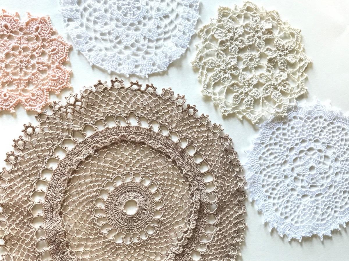 Five Free Crochet Doily Patterns No 2 Amanda Jones Crochet