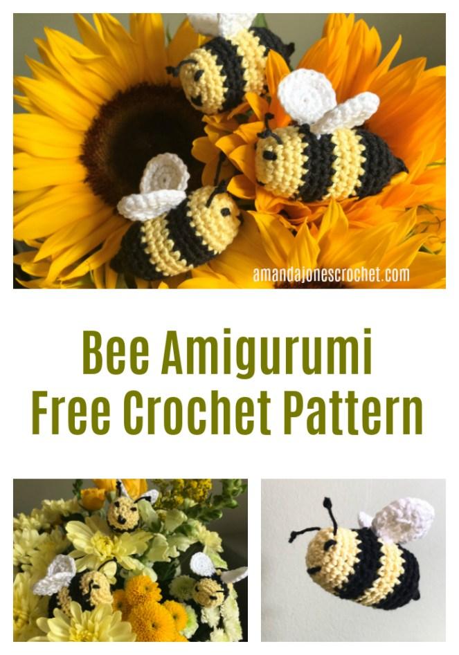 Bee Amigurumi Free Crochet Pattern