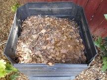 The bin after 7 months...