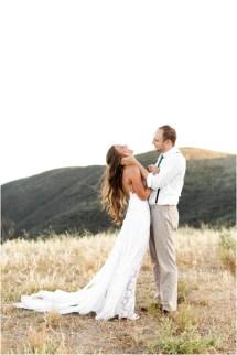 Beach Wedding Couples Portraits