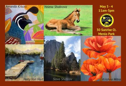 Exhibiting with 4 other artists in May!
